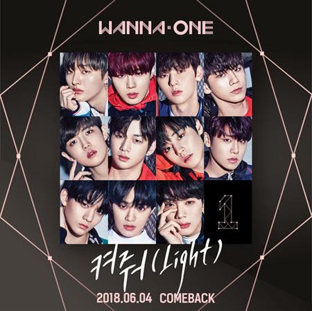 韓国アイドルグループ「Wanna One」側は22日、ニュースペシャルアルバム「1÷χ=1(UNDIVIDED)」のタイトル曲「Light」とカバーイメージを公開した。(提供:OSEN)