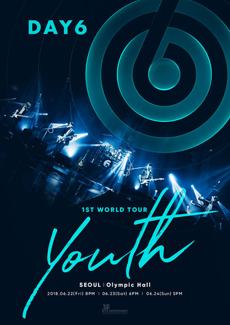 """""""信じて聞く""""韓国男性バンド「DAY6」が初のワールドツアーを通じて、全世界のファンと会って""""K-POP代表バンド""""の地位を強固にする。(提供:OSEN)"""