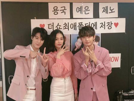 韓国SBS MTVの音楽番組「The Show」が、春の改編に合わせて新しくなった。(提供:OSEN)