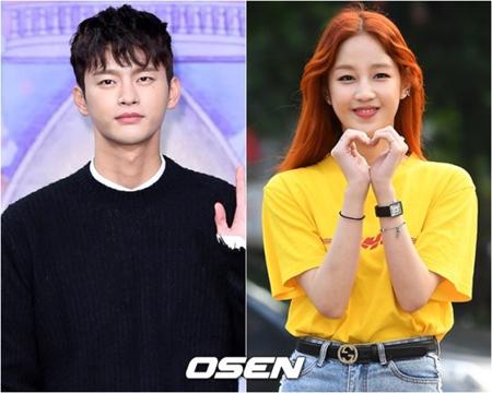 韓国俳優兼歌手のソ・イングク(30)と歌手パク・ボラム(24)が破局した。(提供:OSEN)