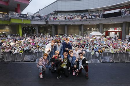 「NCT 127」、日本デビューミニアルバム「Chain」オリコンデイリーアルバムランキング1位獲得!! (オフィシャル)