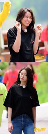 韓国ガールズグループ「AOA」メンバーのソリョンが、理想のタイプを公開した。(提供:OSEN)