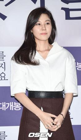 韓国女優キム・ハヌル(40)が第1子となる女児を出産した。(提供:OSEN)