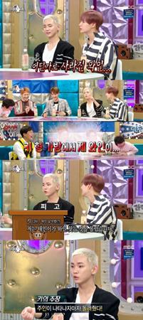 韓国ボーイズグループ「SHINee」メンバーのテミンが、エピソードを公開した。(提供:news1)