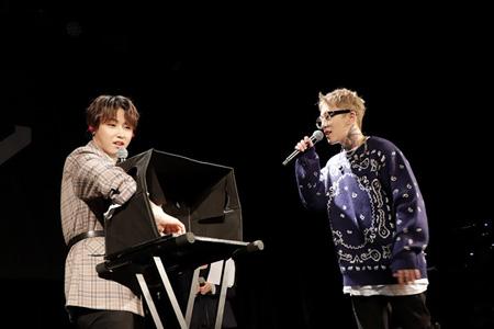 """「Block B」テイル&ユグォン、「T2U」として日本全国のファンを魅了…""""あなたのために歌う""""ステージ(オフィシャル)"""