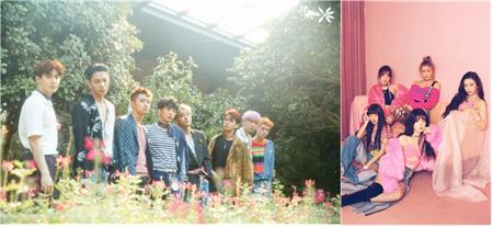 「EXO」X「Red Velvet」、2018BOF出演を確定=1次ラインナップを公開(提供:OSEN)
