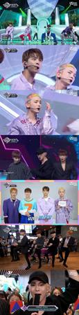 韓国ボーイズグループ「SHINee」が、音楽番組「M COUNTDOWN」でカムバックを果たした。(提供:OSEN)