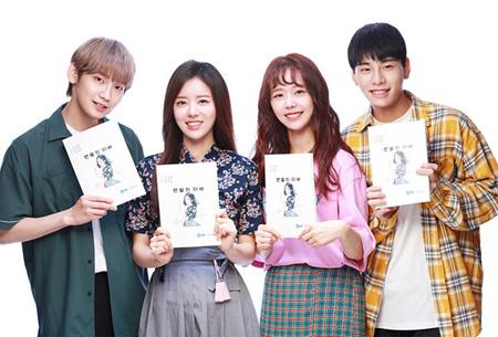 韓国アイドルグループ「JBJ」出身のキム・サンギュンと高田健太が出演するウェブドラマ「裸足のディーバ」がきょう(1日)本格的に撮影に入った。(提供:OSEN)