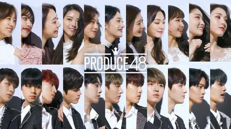 「プロデュース101(PRODUCE 101)」シーズン1、2を通じて選抜されたグループ「I.O.I」と「Wanna One」の完全体が「PRODUCE 48」のために集結した。(提供:news1)