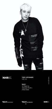 「BIGBANG」V.I、YGXの代表に! YG代表が名刺を公開(提供:OSEN)