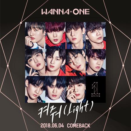 韓国ボーイズグループ「Wanna One」が、新曲発表と同時にチャートで1位を獲得している。(提供:OSEN)