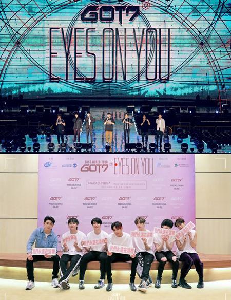 「GOT7」、マカオ単独コンサートを成功裏に終了(提供:OSEN)