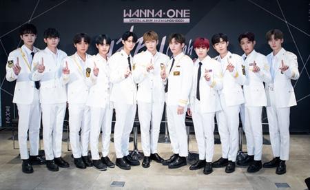韓国ボーイズグループ「Wanna One」のユニット2組がラジオ番組に出演する。(提供:OSEN)