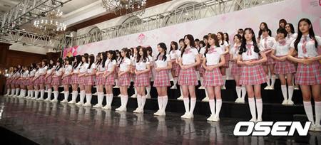 Mnet「PRODUCE 48」側、番組は「日韓戦ではない」と説明