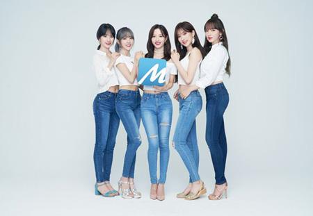 韓国ガールズグループ「宇宙少女」のソンソ、ボナ、ソラ、ルダ、ウンソがウェブ小説連載プラットフォーム「munpia」の専属モデルに抜てきされた。(提供:OSEN)