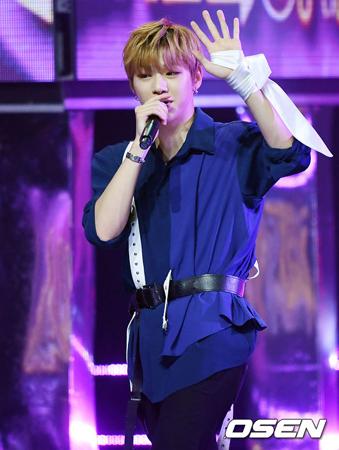 中国のルー・ゲーリッグ支援団体が、韓国ボーイズグループ「Wanna One」メンバーのカン・ダニエルに感謝のあいさつをした。(提供:OSEN)