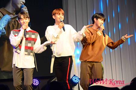 「MYNAME」左からチェジン、セヨン、ジュンQ