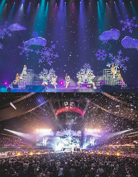 「TWICE」、シンガポール公演で8500人の現地ファンを魅了(提供:OSEN)