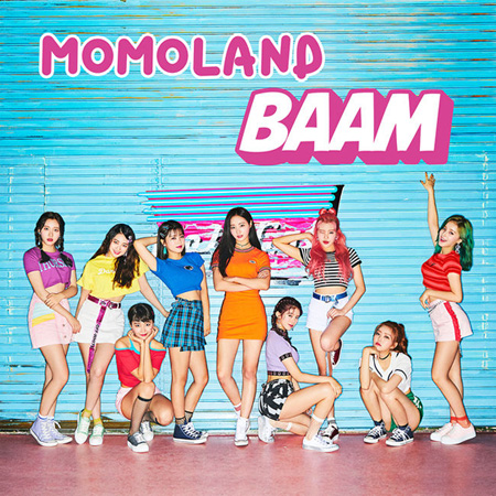 「MOMOLAND」、タイトル曲は「BAAM」=オンライン表紙を公開! (提供:OSEN)
