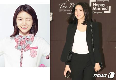 韓国ガールズグループ「AFTERSCHOOL」メンバーのイ・カウンが、「PRODUCE 48」中間発表で1位を獲得した中、「AFTERSCHOOL」元メンバーで女優のイ・ジュヨンが、カウンを応援した。(提供:news1)