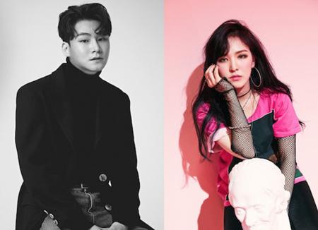 ヤン・ダイル&ウェンディ(Red Velvet)、来月デュエット曲発表へ…パク・ウジン(Wanna One)がMV出演(提供:news1)