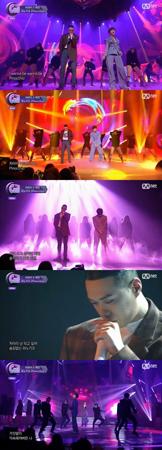 韓国ボーイズグループ「SHINee」メンバーのテミンと、歌手BewhYが、番組で独特なコラボを披露して注目を集めた。(提供:news1)