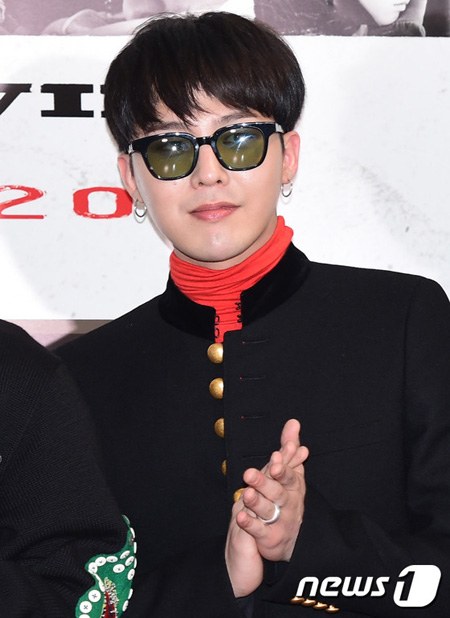 韓国男性グループ「BIGBANG」G-DRAGON(本名:クォン・ジヨン)に軍病院の特恵疑惑が浮上した中、所属事務所であるYGエンターテインメントがこれを否定した。(提供:news1)