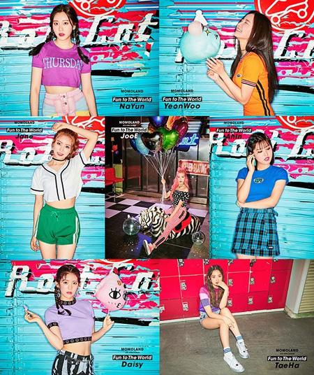 韓国ガールズグループ「MOMOLAND」のアルバム買占めと関連し、文化体育観光部の調査結果、1次・2次ともに買占めではないと結論付けた。(提供:news1n)