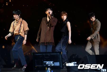 """韓国アイドルグループ「NU'EST W」が8か月ぶりに""""歴代級""""のアルバムを引っ提げて戻ってきたを自信を示した。(提供:OSEN)"""