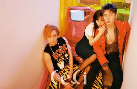 韓国歌手ヒョナとアイドルグループ「PENTAGON」イドン&フイのユニット「Triple H」がカムバックする。(提供:news1)