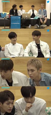 韓国ボーイズグループ「SHINee」が、ファンとの交流の時間をもった。(提供:OSEN)