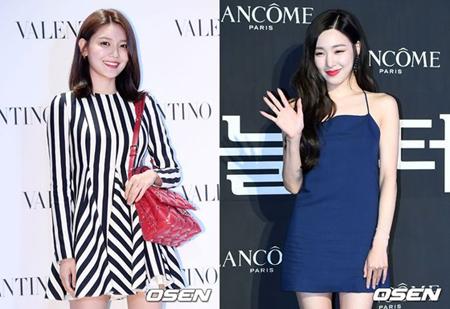 韓国ガールズグループ「少女時代」として活動してきたスヨンが、ティファニーの新曲を応援しながら広報に努めた。(提供:OSEN)