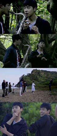 韓国MBCのアンリアルバラエティ「ドゥニア~初めて出会った世界」で、ユンホ(東方神起)がSMトレーニングを実施する現場が公開された。(提供:OSEN)