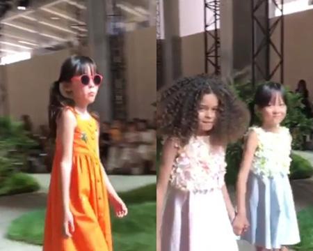 秋山成勲-SHIHO夫妻の愛娘サランちゃん、パリでモデルデビュー(提供:OSEN)