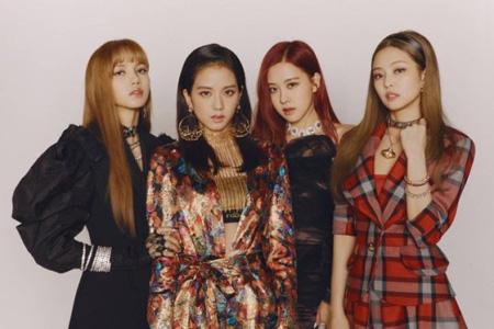 韓国ガールズグループ「BLACKPINK」が「アイドルチャート」の「アチャランキング」週間チャートで初1位に輝いた。(提供:OSEN)