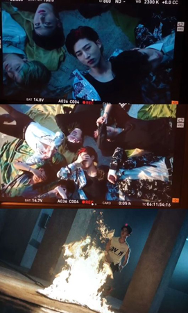 YGエンターテインメントのヤン・ヒョンソク代表プロデューサーが、ボーイズグループ「iKON」の新曲MVの撮影現場を公開した。(提供:OSEN)
