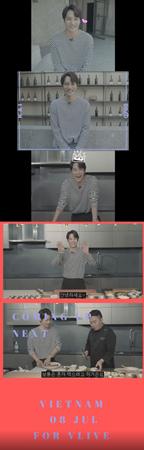 韓国ボーイズグループ「EXO」メンバーのKAIが、ベトナムVLIVEの「スターロード」の初めての出演者となる。(提供:OSEN)