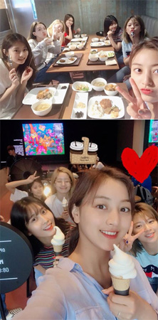 「TWICE」、JYP新社屋のレストランをアピール「アイスクリームがお勧め」(提供:OSEN)