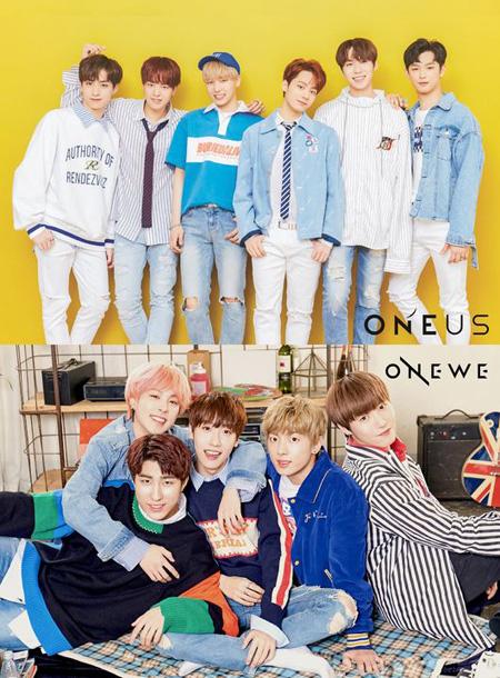 「MAMAMOO」所属事務所のボーイズグループ「ONEUS」と「ONEWE」、下半期にデビュー! (提供:OSEN)