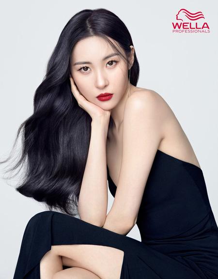 韓国歌手ソンミ(元Wonder Girls)がグローバルヘアブランド「WELLA」の新しいミューズに選定された。(提供:news1)