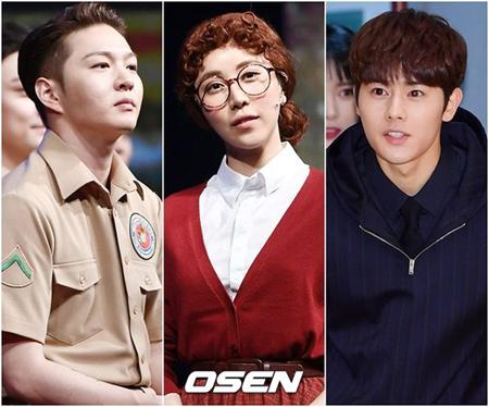 韓国ミュージカル女優チョン・ジェウンが、キム・ドンジュン(ZE:A)に続きチャンソプ(BTOB)とも熱愛説が浮上した。(提供:OSEN)