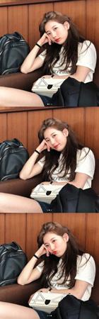 韓国歌手兼女優のスジ(元Miss A)が、多彩な表情変化を公開して注目を集めている。(提供:OSEN)