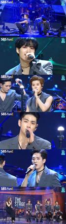 韓国ボーイズグループ「NU'EST W」、ソン・ドンウン(Highlight)、キム・ドンハン、ガールズグループ「fromis_9」が、夏の夜を熱くした。(提供:OSEN)