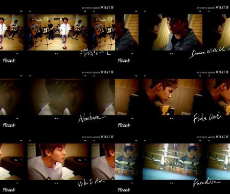 韓国バンド「FTISLAND」が、ニューアルバム「WHAT IF」のレコーディング現場を公開した。(提供:OSEN)