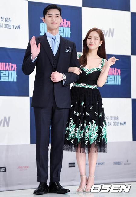 俳優パク・ソジュン&パク・ミニョンに熱愛説、両者共に否定 「親しい同僚」