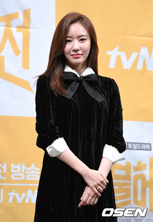 韓国女優キム・アジュンが信号無視で事故を起こしたことについて、所属事務所側は「事実だ」と明らかにした。(提供:OSEN)