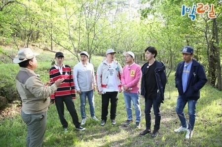 韓国人気バラエティ番組「1泊2日」のロケが、猛暑によって中止された。(提供:news1)