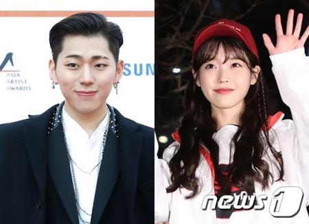 韓国歌手IU(アイユー)が、ジコ(Block B)のソロコンサートにゲスト出演する。(提供:news1)