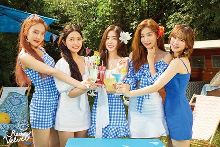 「Red Velvet」の新曲「Power Up」、音源・アルバムチャートで1位獲得! (提供:OSEN)