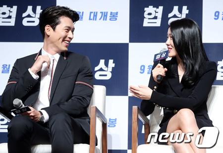 """映画「交渉」出演ソン・イェジン、ヒョンビンとの初共演は「同い年同士、""""同志愛""""を感じた」"""